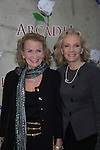 "Passions Juliet Mills and sister Hayley Mills arrive at ""Arcadia"" - Broadway Opening Night on March 17, 2011 at the Ethel Barrymore Theatre, New York City, New York.  Arrivals, Curtain Call and Party after at Gotham Hall. (Photo by Sue Coflin/Max Photos)"