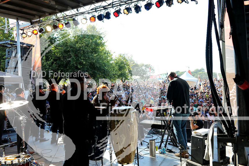 The Suffers Perform at Austin City Limits Music Festival 2015 in Austin, Texas on Sunday, October 4.