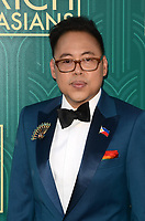 HOLLYWOOD, CA - AUGUST 7: Nico Santos at the premiere of Crazy Rich Asians at the TCL Chinese Theater in Hollywood, California on August 7, 2018. <br /> CAP/MPI/DE<br /> &copy;DE//MPI/Capital Pictures