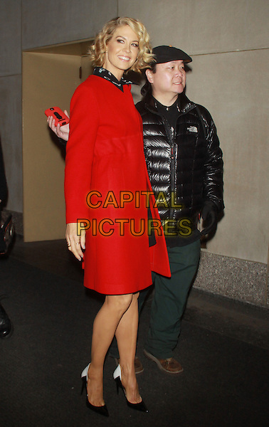NEW YORK, NY - FEBRUARY 25: Jenna Elfman at NBC's Today Show in New York City on February 25, 2014. <br /> CAP/MPI/RW<br /> &copy;RW/ MediaPunch/Capital Pictures