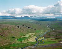 Oddsstaðir séð til austurs, Lundarreykjadalshreppur / Oddsstadir viewing east, Lundarreykjadalshreppur.