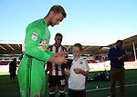 George Long signs autographs during the 2016/17 Photo call at Bramall Lane Stadium, Sheffield. Picture date: September 8th, 2016. Pic Simon Bellis/Sportimage