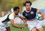 Hong Kong plays Pakistan during the17th Asian Games 2014 Rugby Mens Sevens tournament on September 30, 2014 at the Namdong Asiad Rugby Field in Incheon, South Korea. Photo by Alan Siu / Power Sport Images