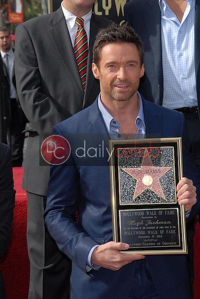 Hugh Jackman<br /> at the Hugh Jackman Star on the Hollywood Walk of Fame Ceremony, Hollywood, CA 12-13-12<br /> David Edwards/DailyCeleb.com 818-249-4998