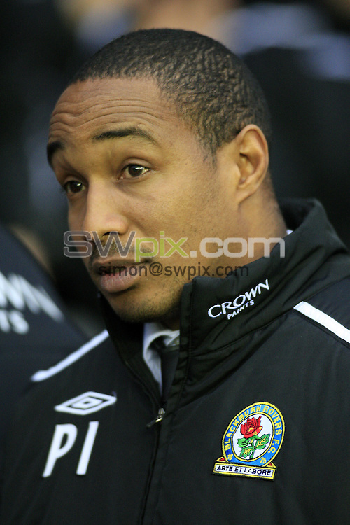 Pix: Chris Mangnall/SWpix.com, Football   Barclays Premier League. 13/12/08  Wigan Athletic v Blackburn Rovers....picture copyright>>Simon Wilkinson>>07811267 706>>....Blackburn's Manager Paul Ince
