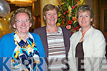 FAREWELL: Bidding farewell to Fr Dan at the Brandon Hotel on Tuesday l-r: Mary O'Brien, Knockmoyle, Sr Joan O'Neill, Presentation Convent and Adrienne McLoughlin, Knockmoyle.     Copyright Kerry's Eye 2008
