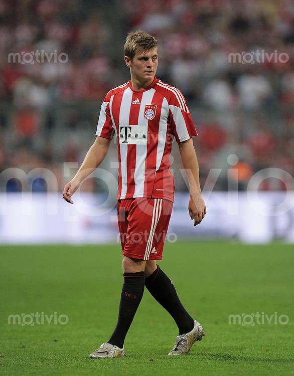 FUSSBALL   1. BUNDESLIGA   SAISON 2010/2011  1. SPIELTAG FC Bayern Muenchen - VfL Wolfsburg                     20.08.2010 Toni Kroos (FC Bayern Muenchen)