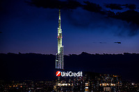 La torre unicredit di milano