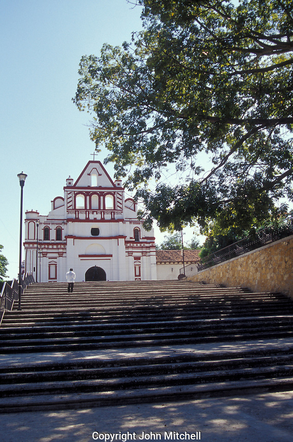 The Templo de Santa Domingo de Guzman in Chiapa de Corzo, Chiapas, Mexico