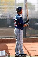 Michael Brantley -  Cleveland Indians - 2009 spring training.Photo by:  Bill Mitchell/Four Seam Images