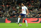 7th January 2018, Wembley Stadium, London, England;  FA Cup football, 3rd round, Tottenham Hotspur versus AFC Wimbledon; Mousa Dembele of Tottenham Hotspur controls the ball in midfield