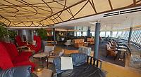 A- Crow's Nest Lounge on HAL Koningsdam S. Caribbean Cruise, Caribbean Sea 3 19
