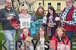Local craftsmen and traders in Cahersiveen and the surrounding areas have come together to bring their wares to shoppers with a special craft fair throughout December at the Oratory Gallery in Cahersiveen. .Back L-R Maurice Murphy (Derrynane Pottery), Brenda Murpy (Sharavogue Studio), Nicola O'Connell (Would you like tonic with that?) , Julia Clarke (Edge of the Earth Ceramics) and Garry Murphy (My Celtic Spirit) .Front L-R Dawn Gibbons (Hand-made cards and decorations), Colette White (Chocolettes) and Trudy Bennett.