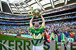 Kieran Donaghy. Kerry players celebrate their victory over Donegal in the All Ireland Senior Football Final in Croke Park Dublin on Sunday 21st September 2014.