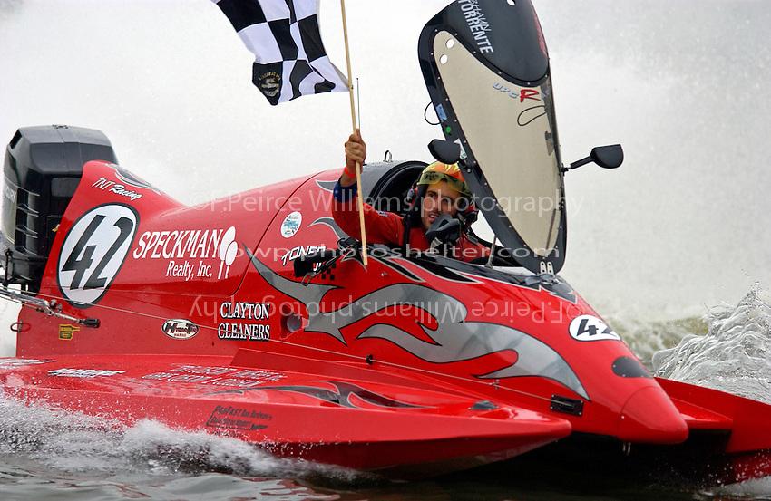 Winner Shaun Torrente (#42)   (SST-120)