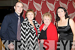 NIGHT OUT: Enjoying a great night out at the Churchill GAA social at the Ballyroe Heights hotel on Friday l-r: Noel Dillon, Angela Nolan and Margaret and Tracy O'Sullivan.