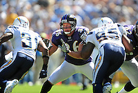 Sep. 20, 2009; San Diego, CA, USA; Baltimore Ravens tight end (86) Todd Heap against the San Diego Chargers at Qualcomm Stadium in San Diego. Baltimore defeated San Diego 31-26. Mandatory Credit: Mark J. Rebilas-