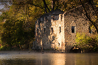 Archibald Mill on the Cannon River.<br /> The current ruins are the remains of one of several mills built by the Archibald family on the same site. The original mill was built in 1857.