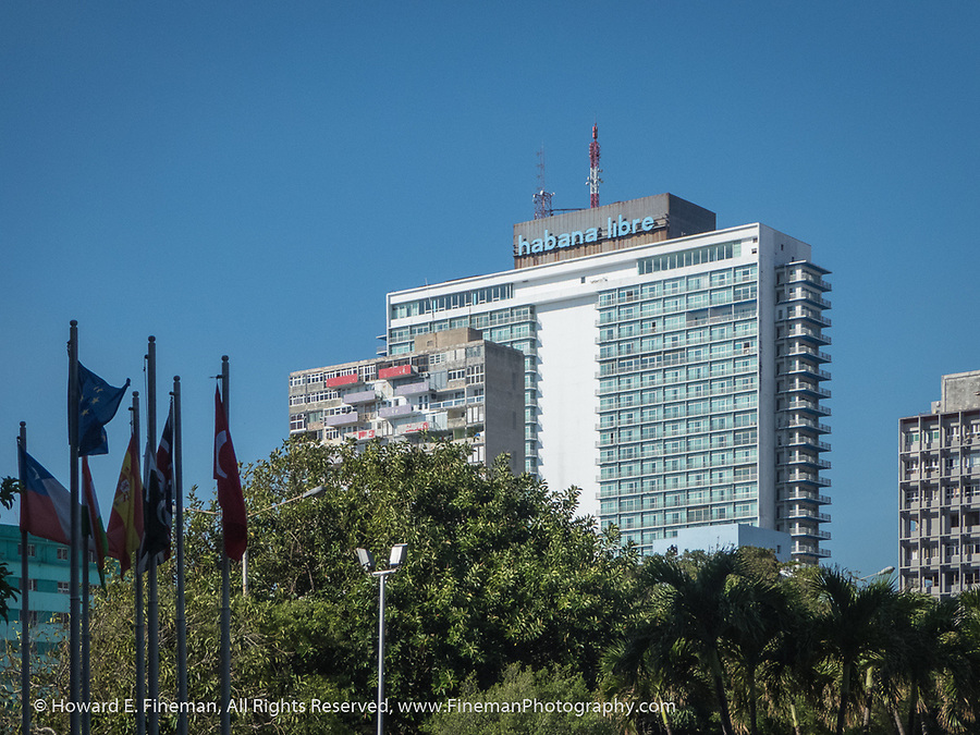 Hotel Havana Libre, now in the Melia Group