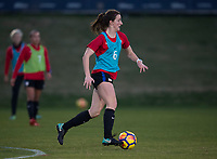 Carson, CA - January 11, 2018: The USWNT trains during their annual January camp in California.