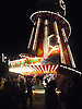 An illuminated Helter Skelter at The Rolling Stones Gig in Hyde Park the summer of 2013.<br />
