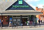 East of England Co-Op supermarket shop, Felixstowe, Suffolk, England, UK