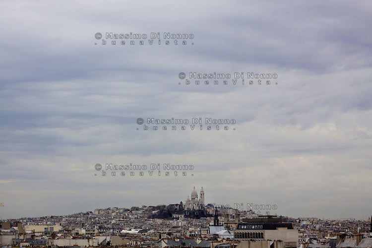 Parigi: veduta di Montmartre<br /> <br /> Paris: general view of Montmartre