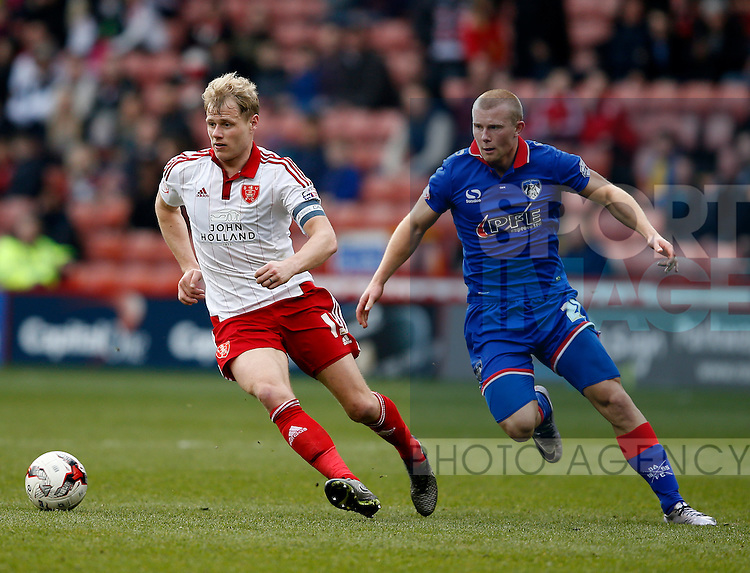 James McEveley of Sheffield Utd and \o21during the Sky Bet League One match at The Bramall Lane Stadium.  Photo credit should read: Simon Bellis/Sportimage