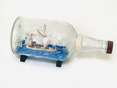 Ilen in a bottle