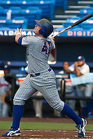 Justin Bour #41 of the Daytona Cubs during game 3 of the Florida State League Championship Series against the St. Lucie Mets at Digital Domain Park on Spetember 11, 2011 in Port St. Lucie, Florida. Daytona won the game 4-2 to win the Florida State League Championship.  Photo by Scott Jontes / Four Seam Images