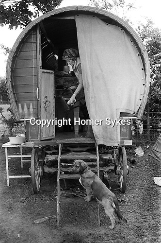 Appleby in Westmorland Horse fair Cumbria. 1981