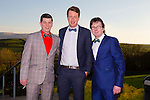 Enjoying the Austin Stacks social on Sunday night in Ballyroe were Francie Breen, Conor Donaghy and Gerard Breen