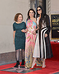 Lucy Liu Honored With Star On The Hollywood Walk Of Fame on May 01, 2019 in Hollywood, California.<br /> a_Lucy Liu 028 Rhea Perlman, Demi Moore