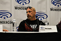 Greg Capullo at Wondercon in Anaheim Ca. March 31, 2019