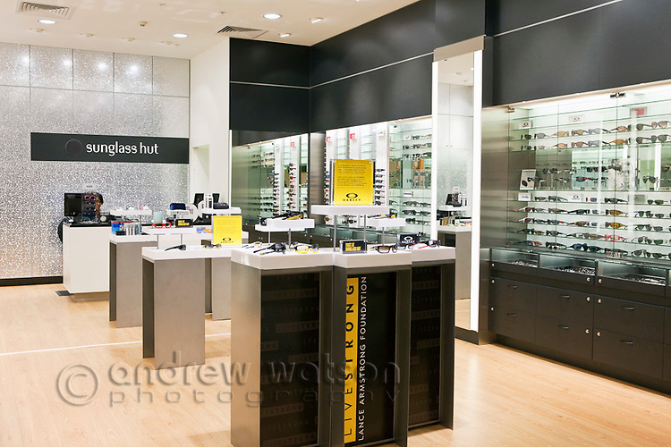 Sunglass store at Cairns Domestic Airport, Cairns, Queensland, Australia