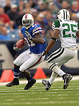 24 September 2006: Buffalo Bills running back Willis McGahee in action against the New York Jets at Ralph Wilson Stadium in Orchard Park, NY. The Jets defeated the Bills 28-20. Mandatory Photo Credit: Ed Wolfstein Photo