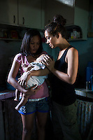 Myleene Klass, on breastfeeding in The Philippines