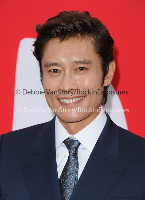 Byung-hun Lee at The Summit Entertainment L.A. Premiere of RED 2 held at Westwood Village in Westwood, California on July 11,2013                                                                   Copyright 2013 Hollywood Press Agency