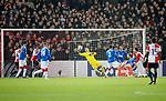 28.11.2019: Feyenoord v Rangers: Allan McGregor saves