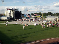 The Scene before the Show. Furthur Band at McCoy Stadium, Pawtucket RI on 5 July 2012
