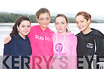 The Castletownbere minor ladies crew l-r: Tara Whelan, Jacqueline Murphy, Rachel Moriarty and Kellie O'Neill who competed at the Kenmare Regatta on Sund..