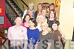 Pictured at the Mods 'n' Minis and B Moda staff party in Lord Kenmares restaurant, Killarney on Saturday night were Tomas McCluskey, Betty Walsh, Agne Krememskiene, Aine O'Donoghue, Alison Roche, Trish Hawell, Margaret Prendergast, Lorraine Stephens, Deirdre McCluskey, Annemarie O'Driscoll, Fiona McSweeney and Oonagh Moynihan.