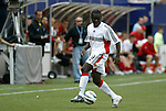 17 April 2004: Freddy Adu during the second half. The MetroStars defeated DC United 3-2 at Giants Stadium in East Rutherford, NJ during a regular season Major League Soccer game..