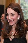 17.03.2017; Paris, FRANCE: KATE MIDDLETON COPIES PRINCESS DIANA STYLE<br /> The Duchess of Cambridge chose to wear pearl earrings that were very similar to those worn by Princess Diana on her last official visit to Paris in November 1994 when she attended a reception to mark the launch of &quot;Les Voisins&quot; hosted by the British Ambassador at the British Embassy, Paris.<br /> Picture shows: Kate at the Embassy reception.<br /> Mandatory Photo Credit: &copy;Francis Dias/NEWSPIX INTERNATIONAL<br /> <br /> IMMEDIATE CONFIRMATION OF USAGE REQUIRED:<br /> Newspix International, 31 Chinnery Hill, Bishop's Stortford, ENGLAND CM23 3PS<br /> Tel:+441279 324672  ; Fax: +441279656877<br /> Mobile:  07775681153<br /> e-mail: info@newspixinternational.co.uk<br /> Usage Implies Acceptance of OUr Terms &amp; Conditions<br /> Please refer to usage terms. All Fees Payable To Newspix International