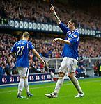 Kyle Lafferty celebrates his goal