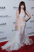 NEW YORK, NY - JUNE 13: Carly Rae Jepsen attends the 4th Annual amfAR Inspiration Gala New York at The Plaza Hotel on June 13, 2013 in New York City. (Photo by Celebrity Monitor)