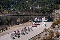 'under the bridge'<br /> <br /> 76th Paris-Nice 2018<br /> stage 6: Sisteron &gt; Vence (198km)