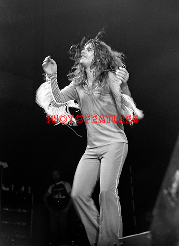 Black Sabbath 1974 Ozzy Osbourne.© Chris Walter.
