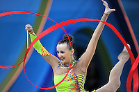 August 30, 2013 - Kiev, Ukraine - ANNA RIZATDINOVA of Ukraine performs at 2013 World Championships.