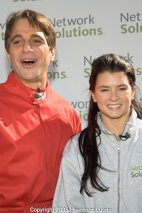 Tony Danza and Danica Patrick